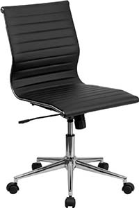 Flash-Furniture-armless-black-leather-office-chair1