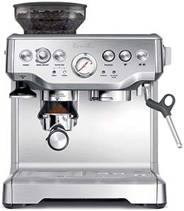breville bes870xl machine review
