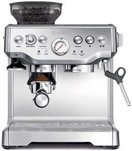 breville bes870xl machine review