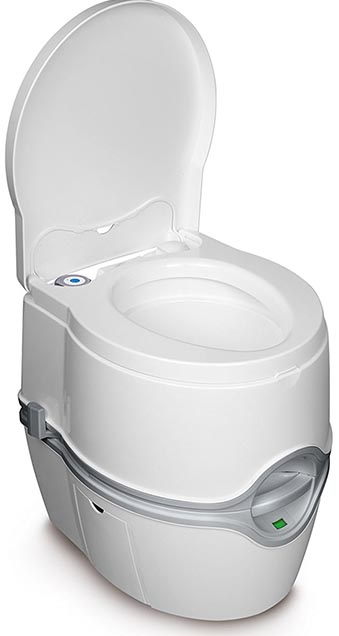 porta potti travel toilet