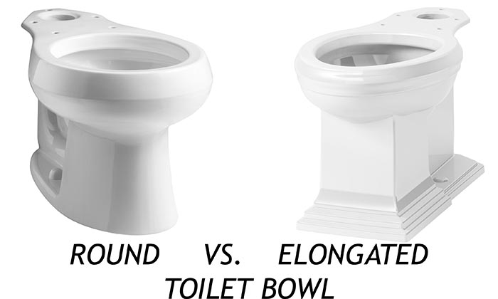 round vs elongated toilet bowl