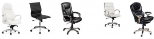 desk chairs with genuine leather