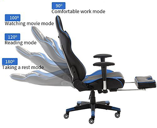 adjustments advantage that gaming chair have over office chairs