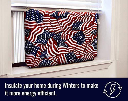 american flag indoor air conditioner cover