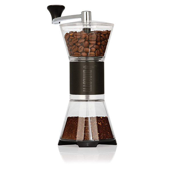 best italian manual coffee grinder with ceramic burr and italian grind of turkish coffee