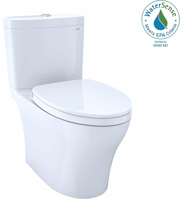 toto has developed the best low flow toilet that uses dual flush to decrease the amount of water needed for a single flush
