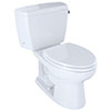 eco-friendly drake toilet with 1.28 gallons per flush