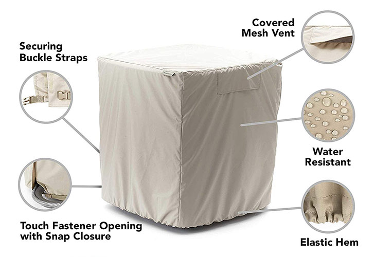elite covermates outdoor AC unit cover for expensive air conditioners