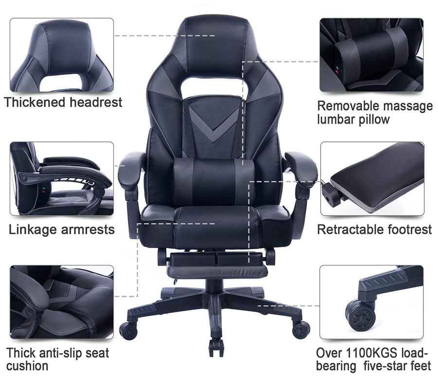 6 features that make healgen one of the most comfortable gaming chairs in the world