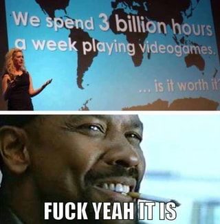 how much time we spend playing videogames