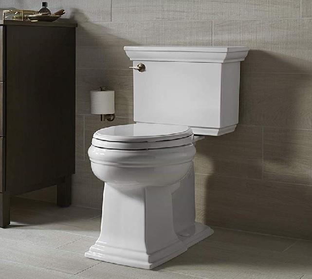 water saving kohler toilet that uses less than 1.3 gallons per flush