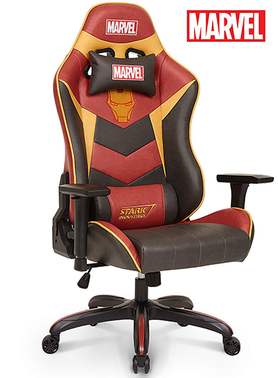 ironman gaming chair for video games