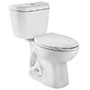 niagara low flow toilet in white