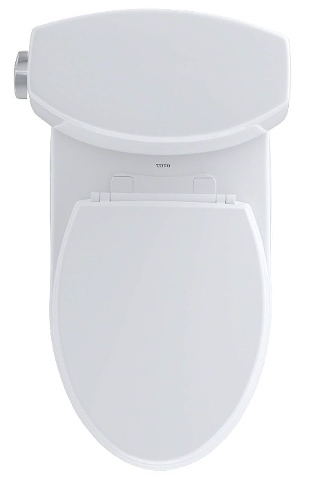 aerial view of toto vespin II toilet