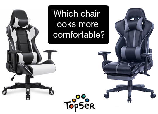 comparison of two comfortable gaming chairs