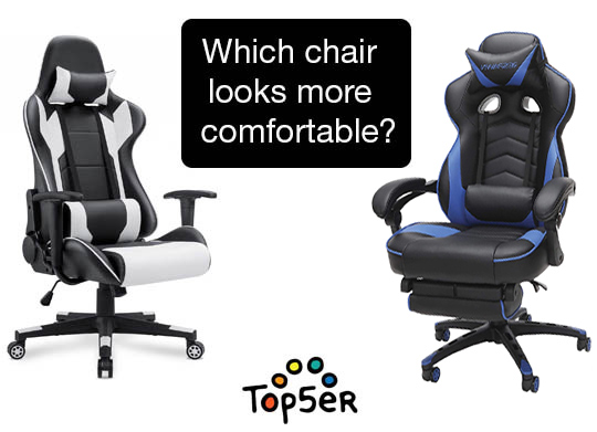 comparison of comfortable gaming chairs