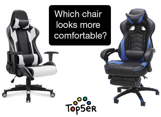 5 Most Comfortable Gaming Chairs Comfy Vs Hard Gaming